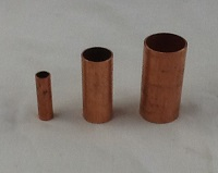 """copper drain tubes 3/8"""" 3/4"""" and 1"""""""