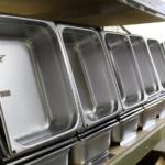 square condensate evaporation pans